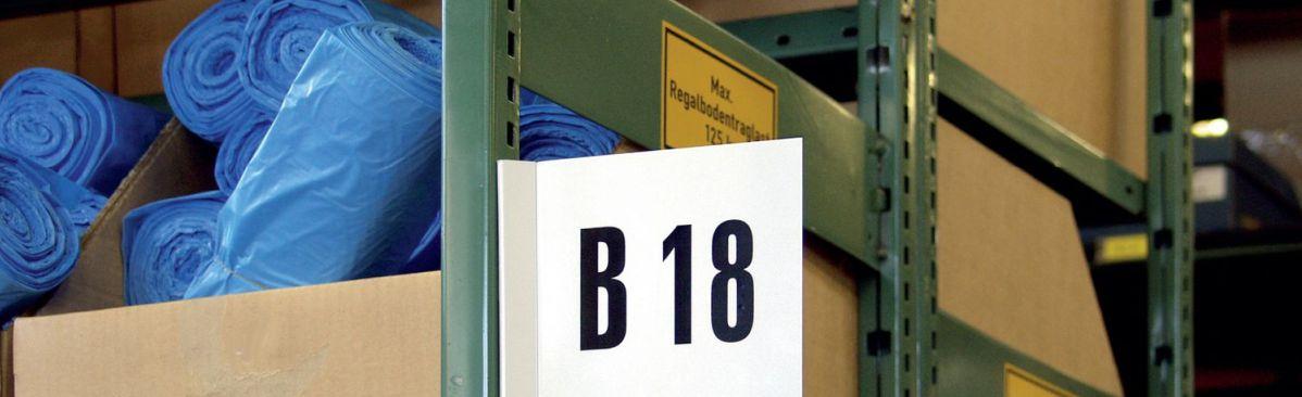 SETON Regalkennzeichnung, Lagerkennzeichnung