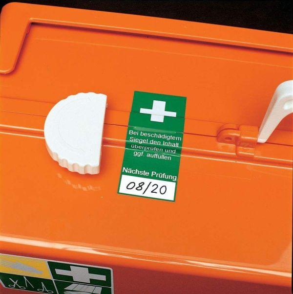 Erste-Hilfe Sicherheitsetikett