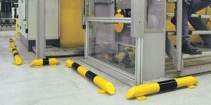 Rammschutzbalken aus Stahl mit starker Absorptionskraft