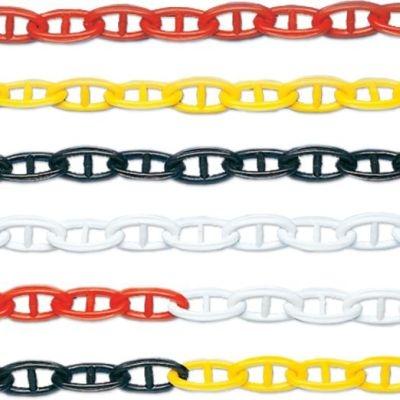Stegketten aus Kunststoff