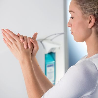 Desinfektionsmittel für hygienische saubere Hände