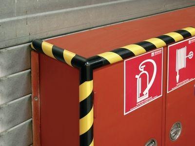 Eckschutzprofil zum Schutz vor Stoßverletzungen