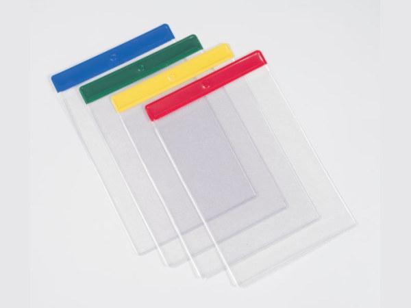 Farbige Dokumententaschen