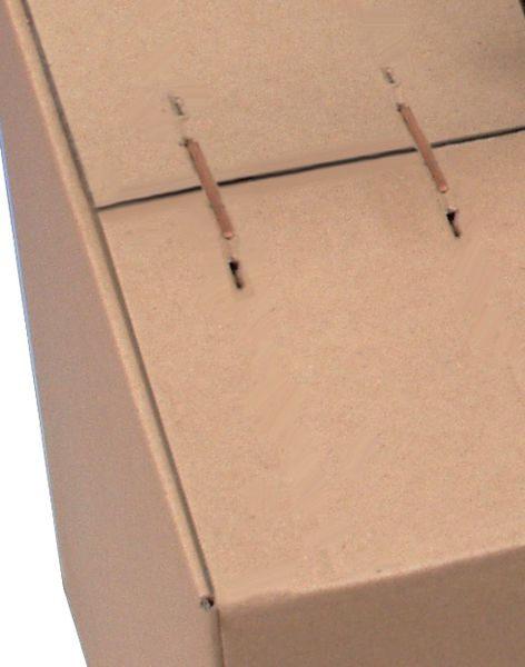 Heftklammern für Kartonverschlusshefter