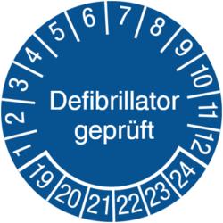 Defibrillator geprüft