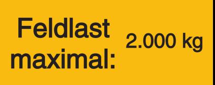 Vorlage: Feldlast maximal 2.000 kg