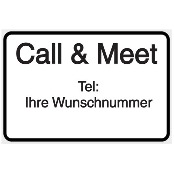 Vorlage: Call & Meet - Tel: Wunschnummer