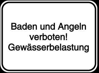 Vorlage: Baden und Angeln verboten!-Gewässerbelastung