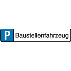 Vorlage: Baustellenfahrzeug - Parkplatz