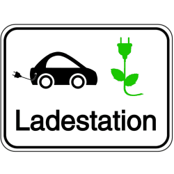 Vorlage: Elektromobil Ladestation