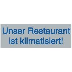 Vorlage: Unser Restaurant ist klimatisiert!