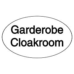 Vorlage: Garderobe, Cloakroom