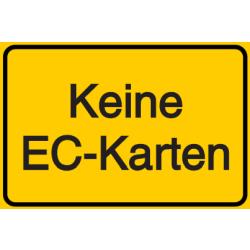 Vorlage: Keine EC-Karten