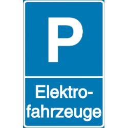 Vorlage: Parkplatz - Elektrofahrzeuge