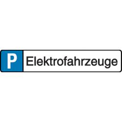 Vorlage: Parkplatz-Reservierung - Elektrofahrzeuge