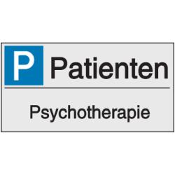 Vorlage: Parkplatzreservierung - Psychotherapie