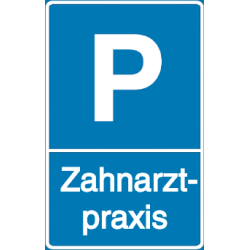 Vorlage: Parkplatz - Zahnarztpraxis