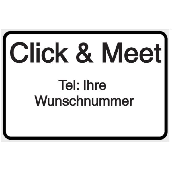 Vorlage: Click & Meet - Tel: Wunschnummer