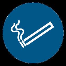 Vorlage: Symbol Rauchen gestattet