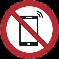 Vorlage: Symbol Smartphoneverbot