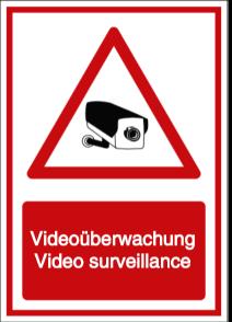 Vorlage: Videoüberwachung - Video surveillance (DE/ENG)