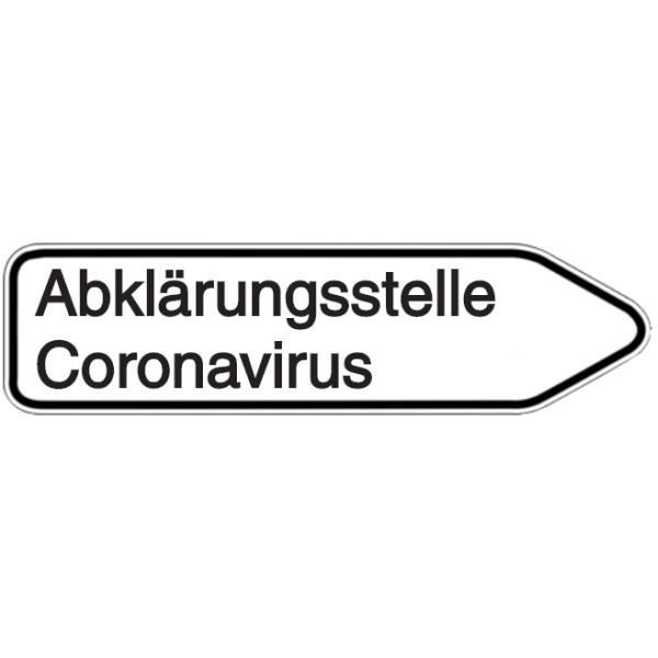 Vorlage: Abklärungsstelle Coronavirus