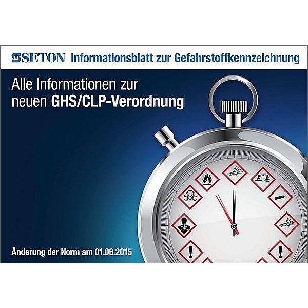 Informationsblatt zur Gefahrstoffkennzeichnung kostenlos herunterladen