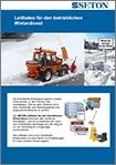 Kostenloser Leitfaden: Betrieblicher Winterdienst - mit Checklisten kostenlos herunterladen
