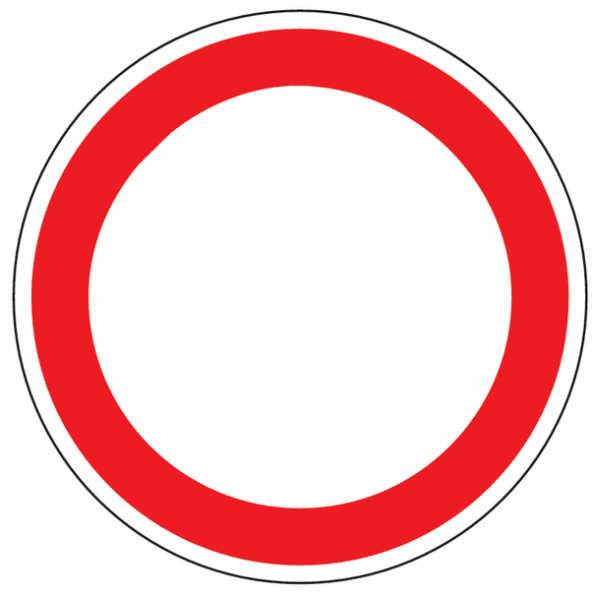 Durchfahrt verboten Schild Design in Deutschland und Österreich