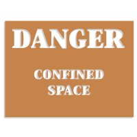 Confined Space Stencils - Confined Space