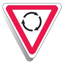 Regulatory Signs - Roundabout Picto