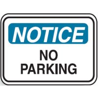 Traffic Control Signs - No Parking