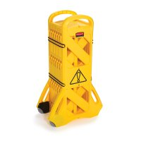 Rubbermaid Portable Mobile Safety Barrier
