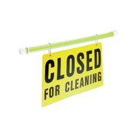 Extendable Safety Pole with Sign Clips - Sign Accessory
