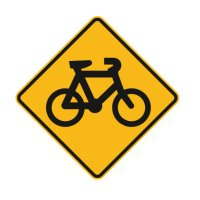 Bicycle Path Signs - Bike Symbol
