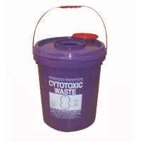 Cytotoxic Waste Container - Round 23L