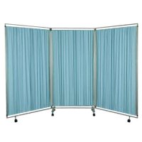 Folding Mobile Privacy Screen Panels Room Divider