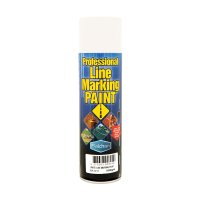 Balchan Line Marking Paint Spray Can Aerosol White 500g