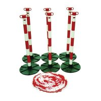 Lightweight Post and Chain Barrier Kit
