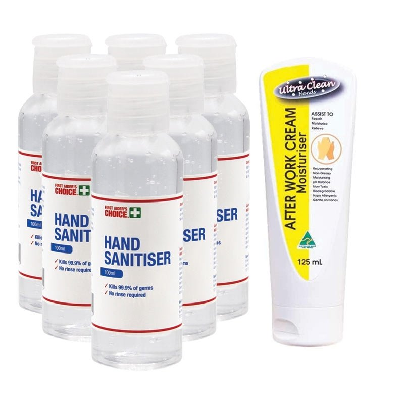 Hand Sanitiser and Hand Cream On the Go Bundle