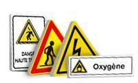 Panneaux et pictogrammes danger - Symbole attention