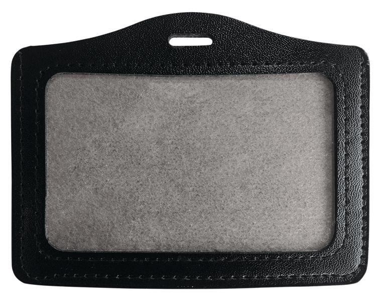 sélectionner pour plus récent offrir des rabais vente officielle Porte-badge aspect cuir