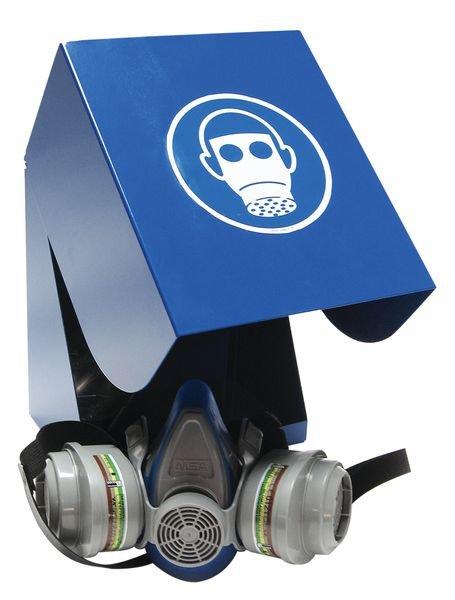 Boîte de rangement EPI en acier laqué pour masques de protection respiratoire | Seton Belgique