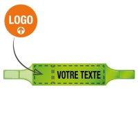 Brassards fluorescents en PVC souple personnalisables en ligne