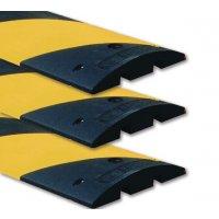 Prix Spécial - Lot de 3 ralentisseurs monobloc noir et jaune