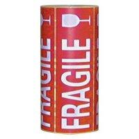 """Etiquettes d'expédition en rouleau """"Fragile"""""""