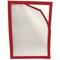 Porte-document à fermeture magnétique avec cadre coloré