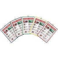 Pochettes de protection réversibles transparentes à suspendre