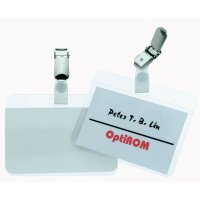 Porte-badge auto-plastifiable en PVC souple