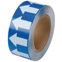 Marqueurs adhésifs en polyester laminé, unis ou fléchés